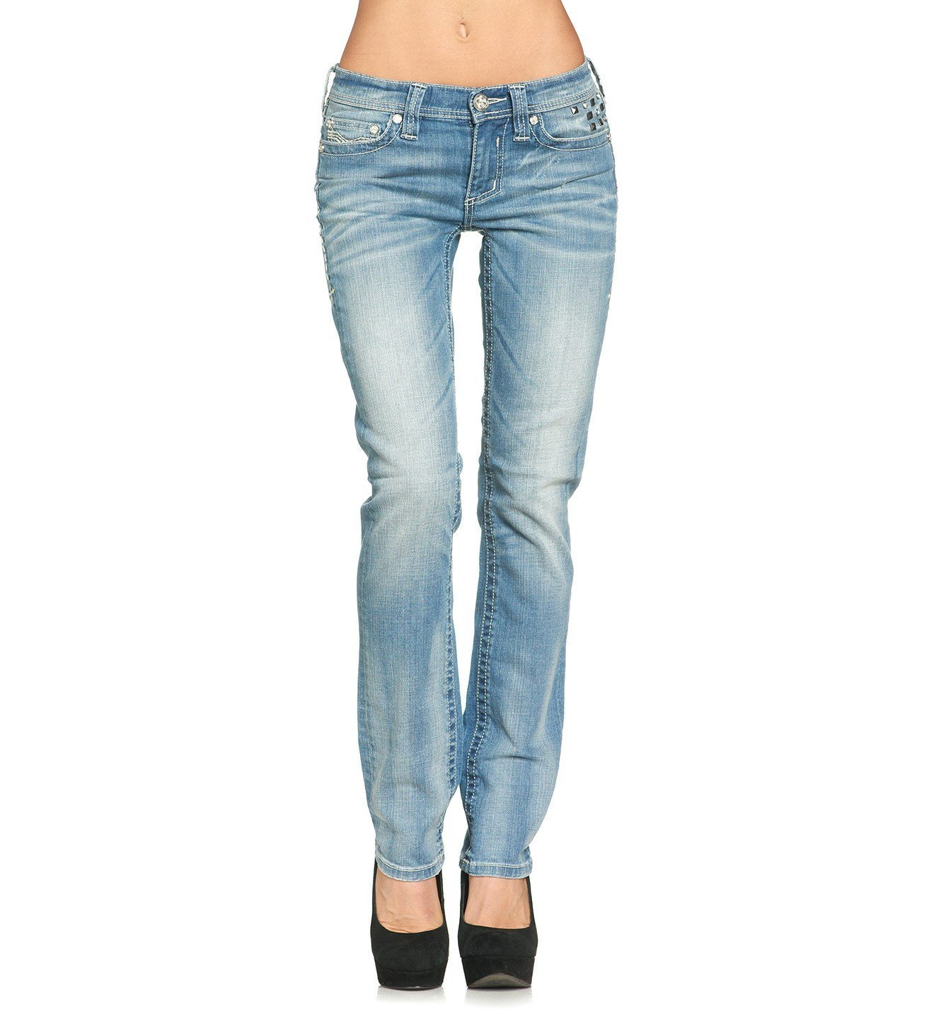 Jenna Crystal Dover - Womens Denim Bottoms - Affliction Clothing