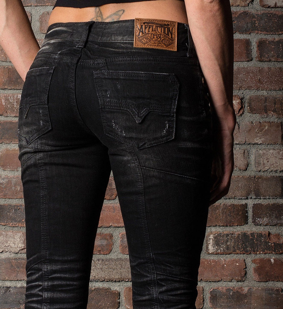 Womens Denim Bottoms - Raquel Brooklyn Commerce