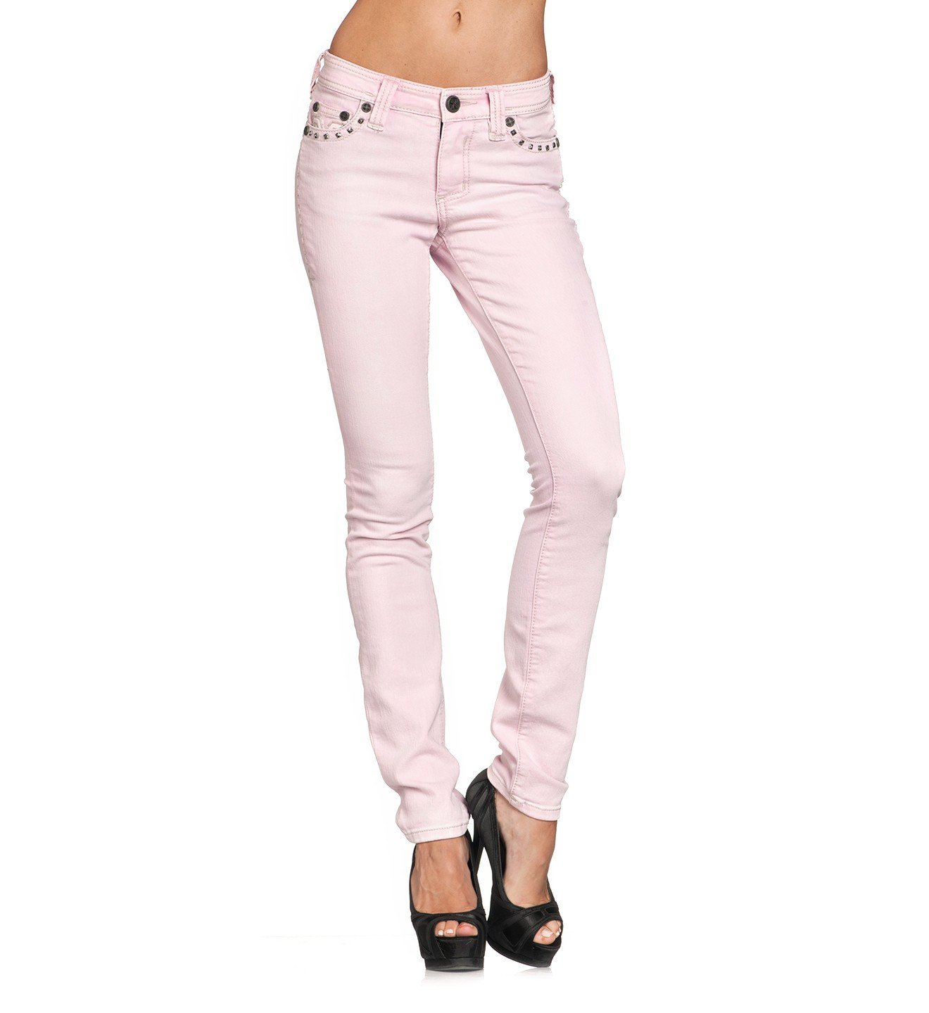 Raquel Maxine Pink - Womens Denim Bottoms - Affliction Clothing