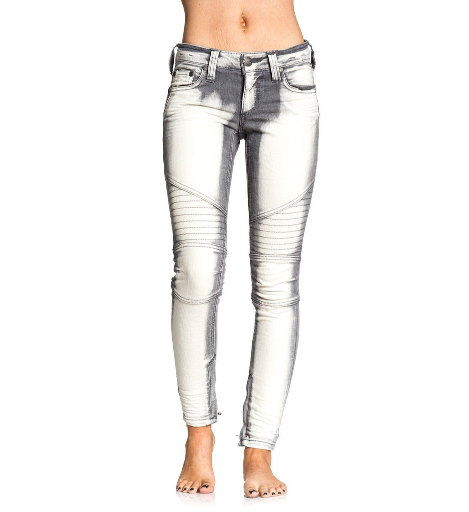 Womens Denim Bottoms - Raquel Rising Hollywood