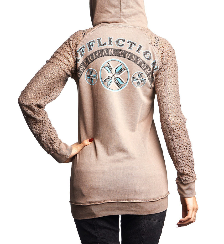 Womens Hooded Sweatshirts - AC Arrow