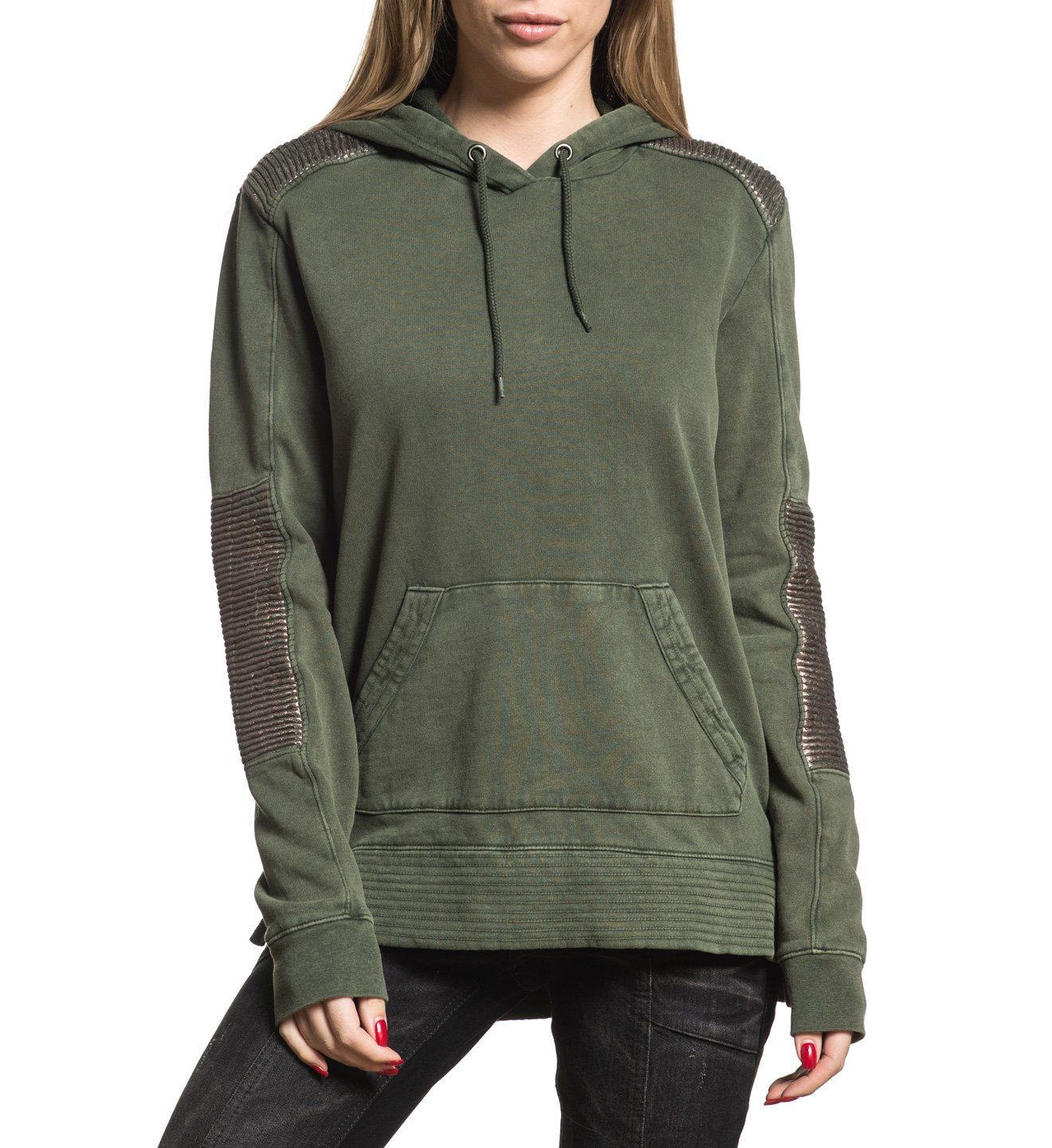 Womens Hooded Sweatshirts - California Motors