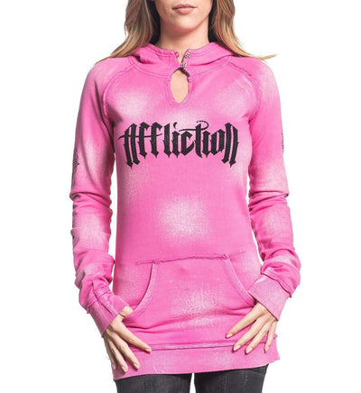Womens Hooded Sweatshirts - Elevated Fear