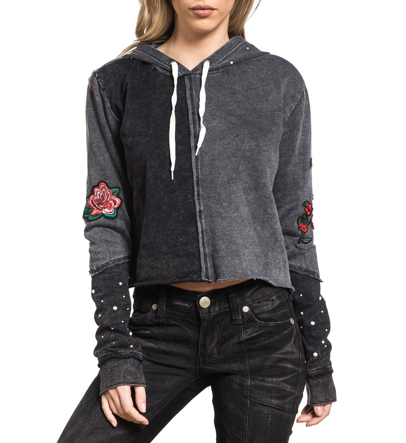Womens Hooded Sweatshirts - Standard Supply P/O Hood