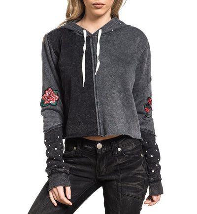 Standard Supply P/O Hood - Womens Hooded Sweatshirts - Affliction Clothing