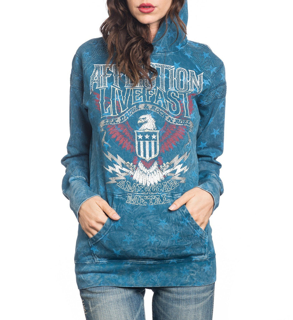Womens Hooded Sweatshirts - Sweet Home