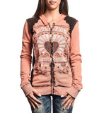 Womens Hooded Sweatshirts - Sweet Whisky