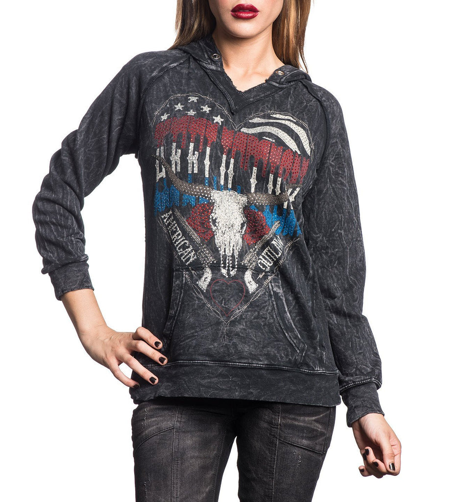 Womens Hooded Sweatshirts - Texarkana