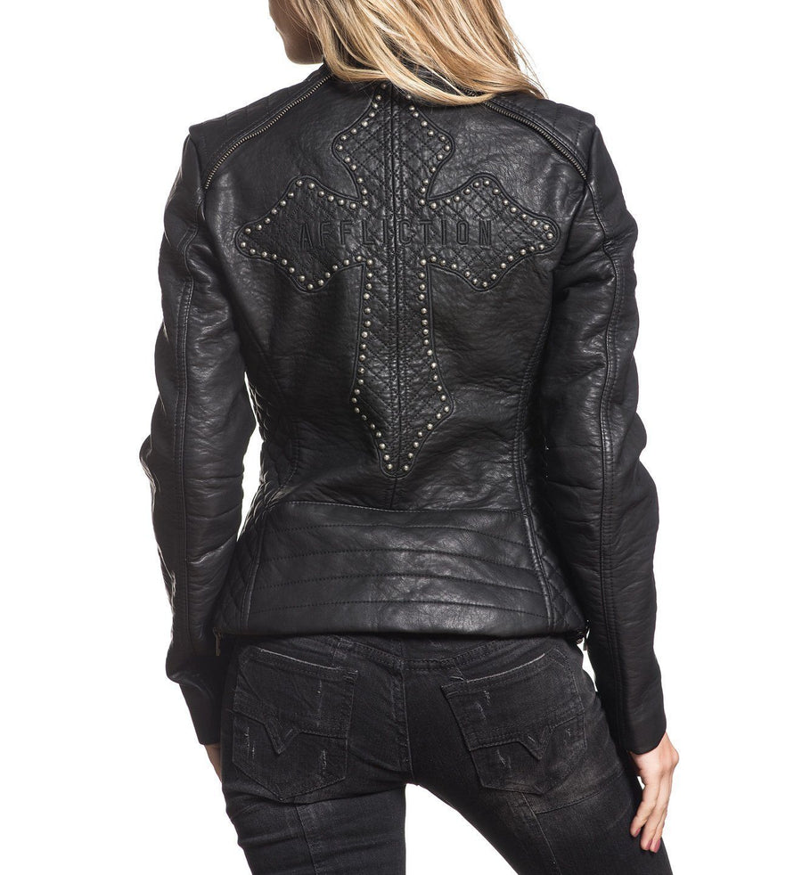 Womens Jackets - Black Water Jacket