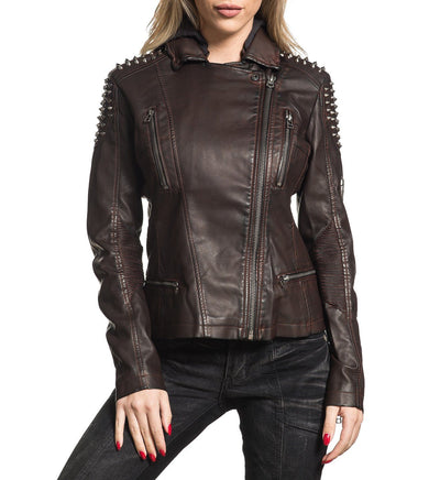 Womens Jackets - Spiked Out