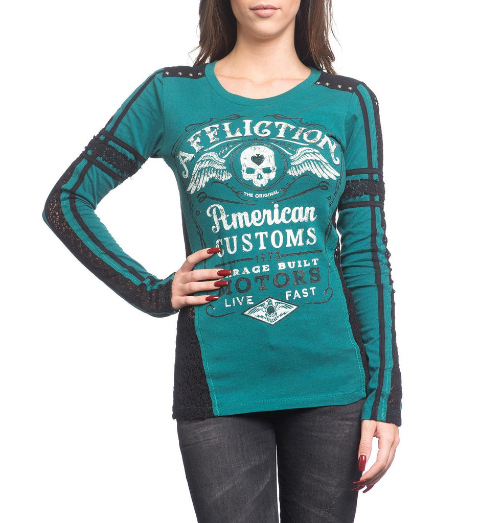 Womens Long Sleeve Tees - Barrel Aged