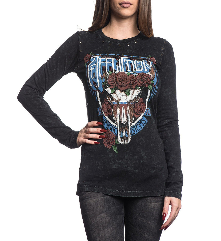 Womens Long Sleeve Tees - Blake