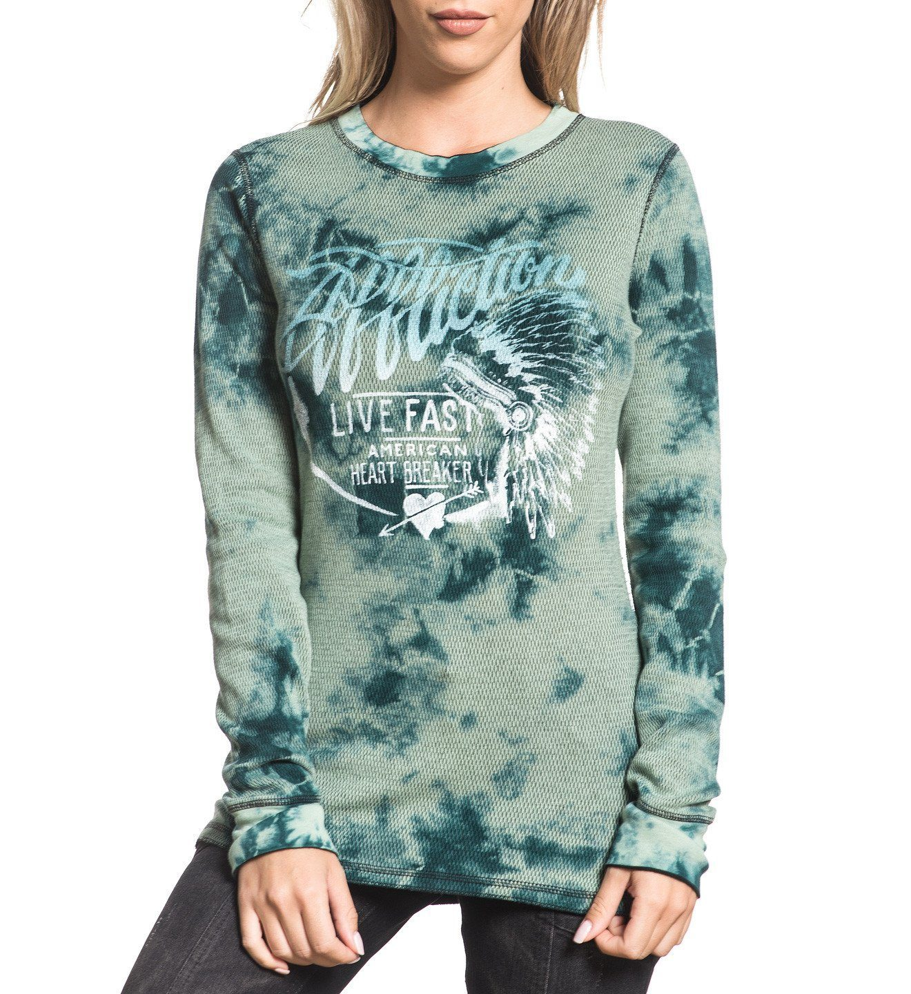 Womens Long Sleeve Tees - Breckenridge