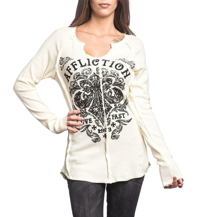 Womens Long Sleeve Tees - Dark Consequences