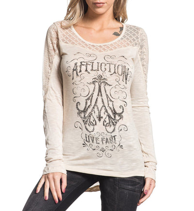 Womens Long Sleeve Tees - Decadence