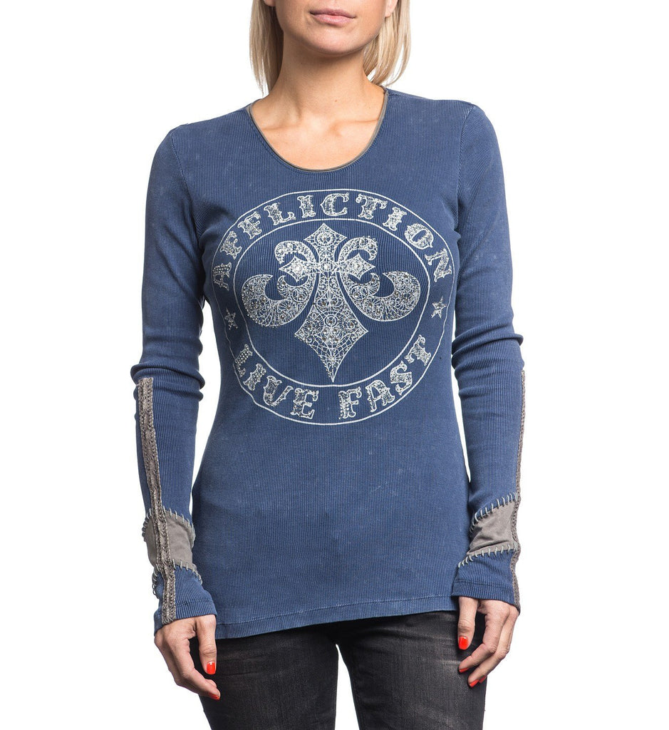 Womens Long Sleeve Tees - Divio Lace