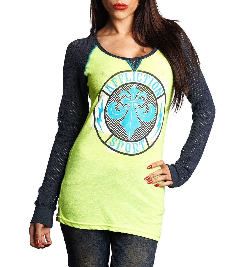 Womens Long Sleeve Tees - Dwyer