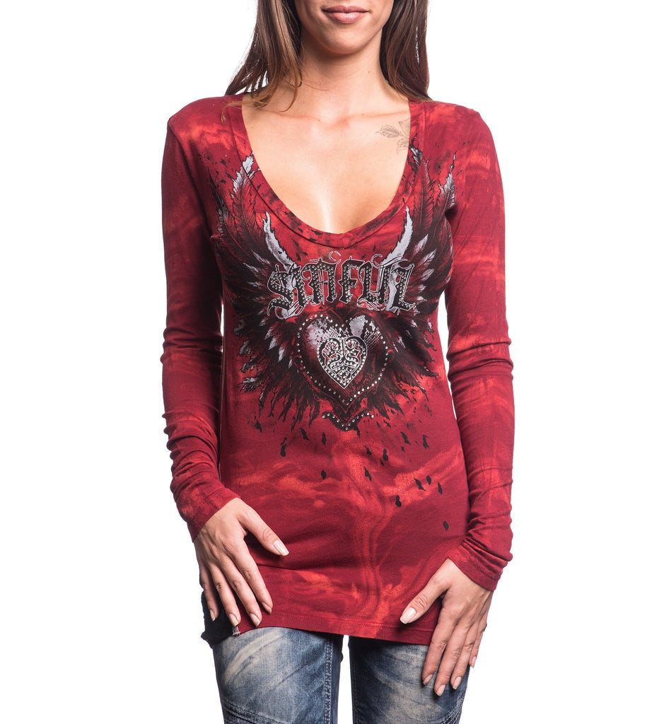 Womens Long Sleeve Tees - Eternal Spirit