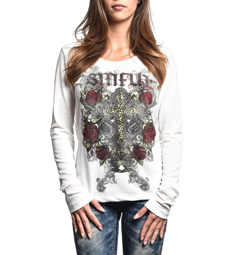 Womens Long Sleeve Tees - Leona
