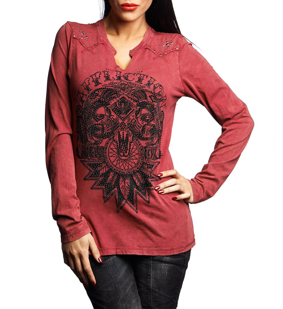 Womens Long Sleeve Tees - Live Wild