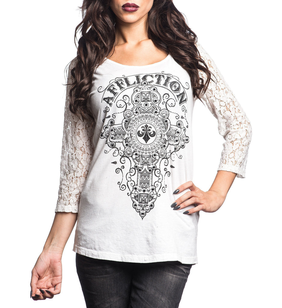 Womens Long Sleeve Tees - Marquis