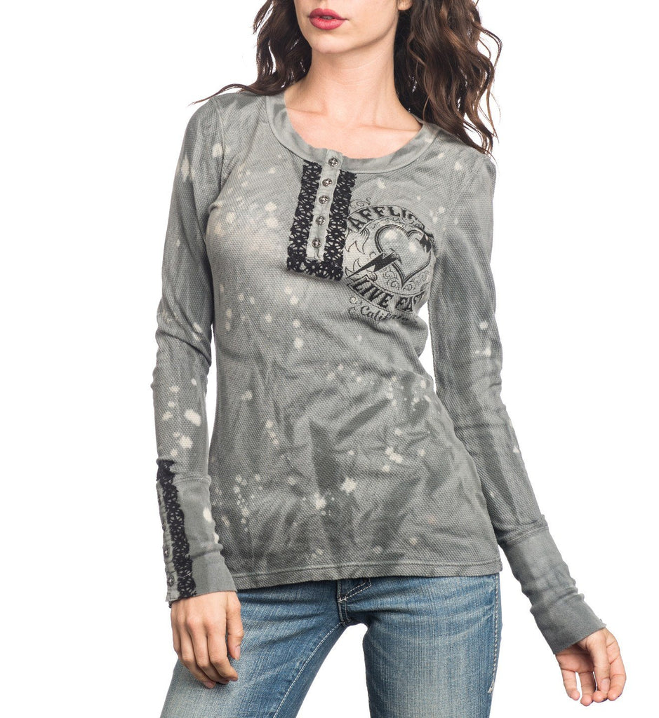Womens Long Sleeve Tees - Marshall