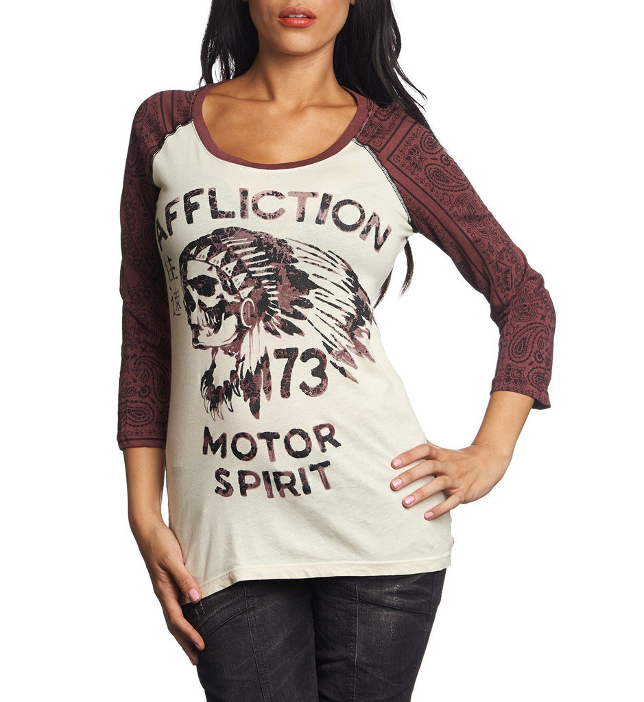 Womens Long Sleeve Tees - No Luck Chiefs