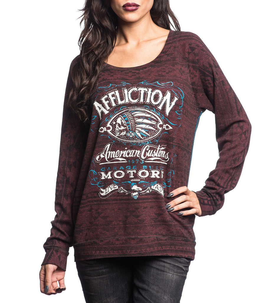 Womens Long Sleeve Tees - Prohibition