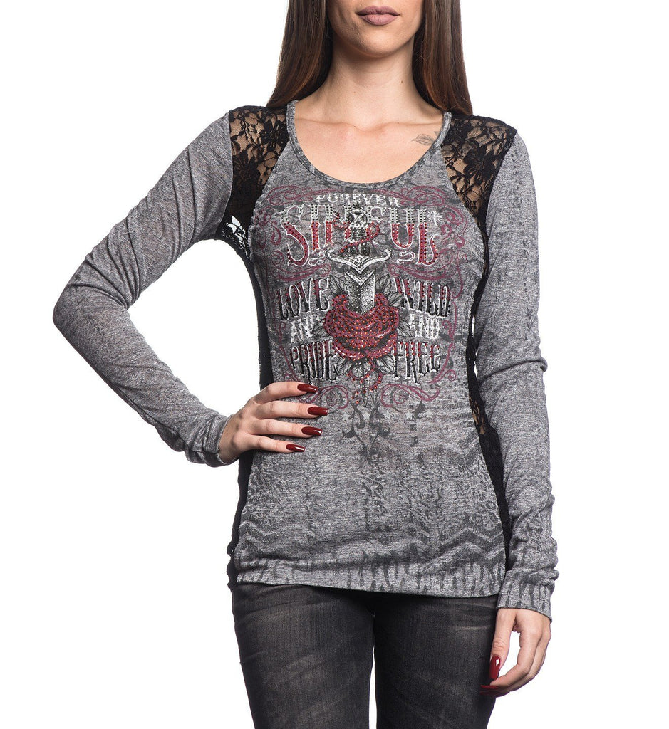 Womens Long Sleeve Tees - Rosario