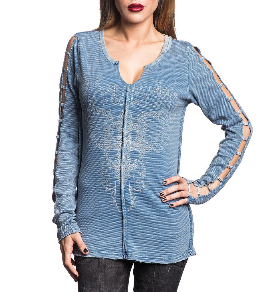 Womens Long Sleeve Tees - Witney