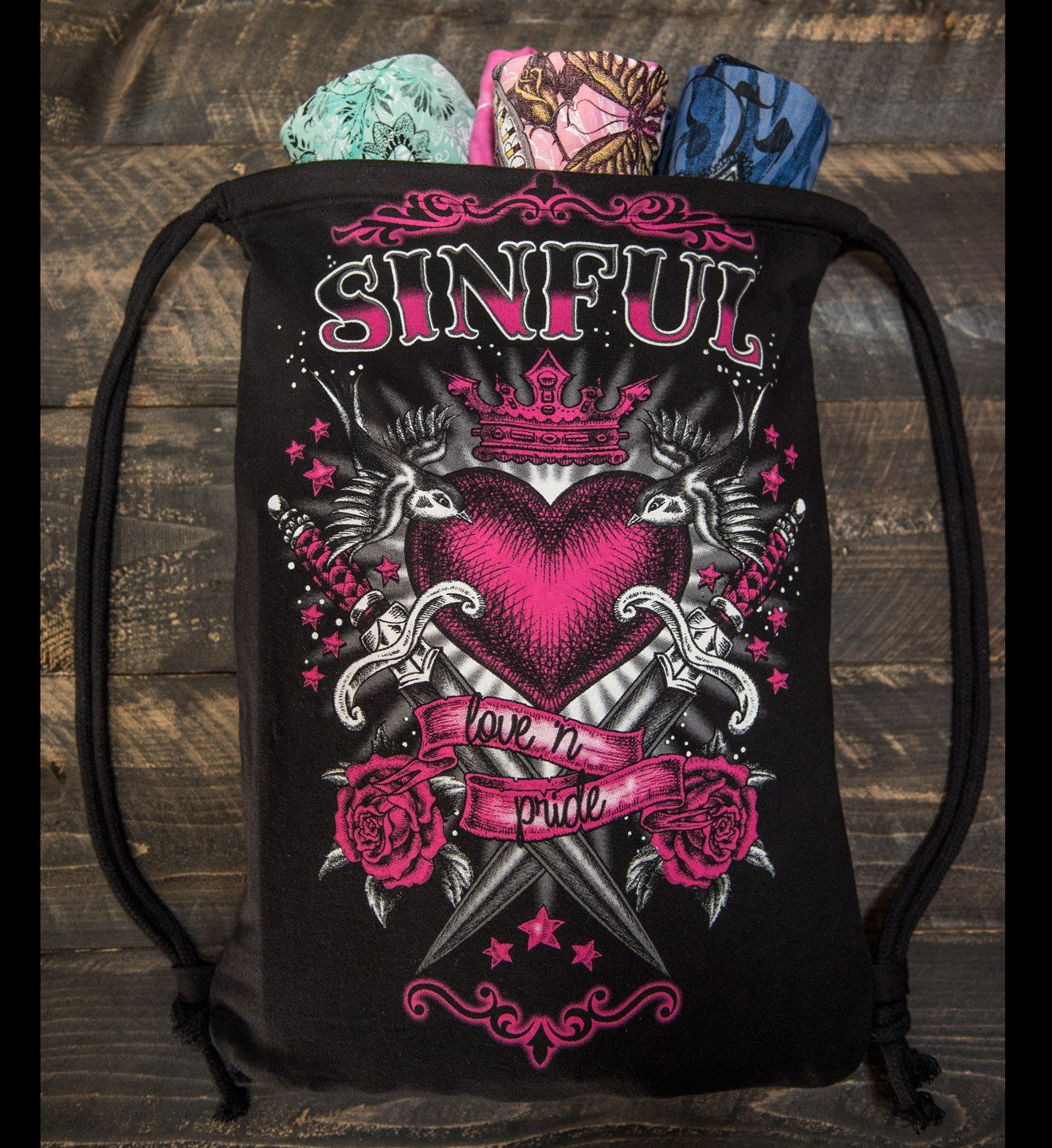 Women's Sinful Mystery Bag - Womens Other Accessories - Affliction Clothing