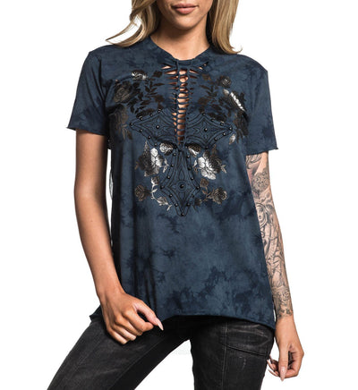 Bella - Womens Short Sleeve Tees - Affliction Clothing