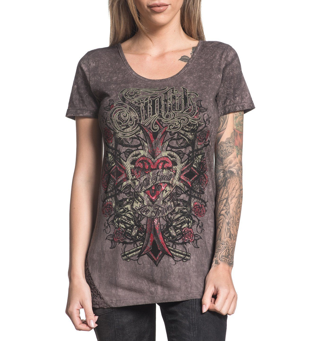 Womens Short Sleeve Tees - Calamity Jane