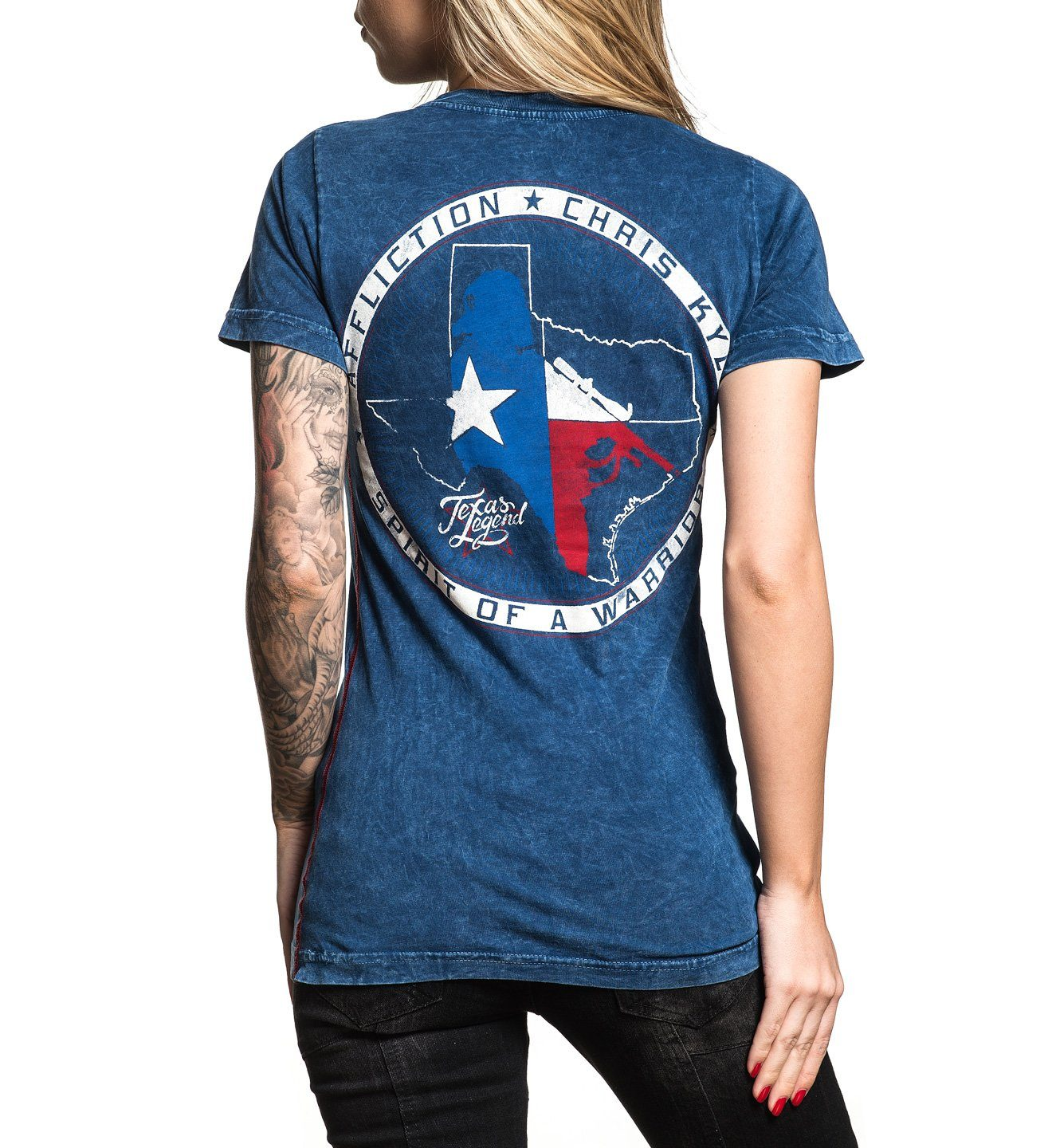 CK Texas Legend - Womens Short Sleeve Tees - Affliction Clothing