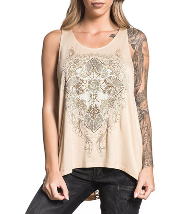 Crystal Canyon - Womens Tank Tops - Affliction Clothing