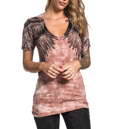 Womens Short Sleeve Tees - Isadora Diamonds