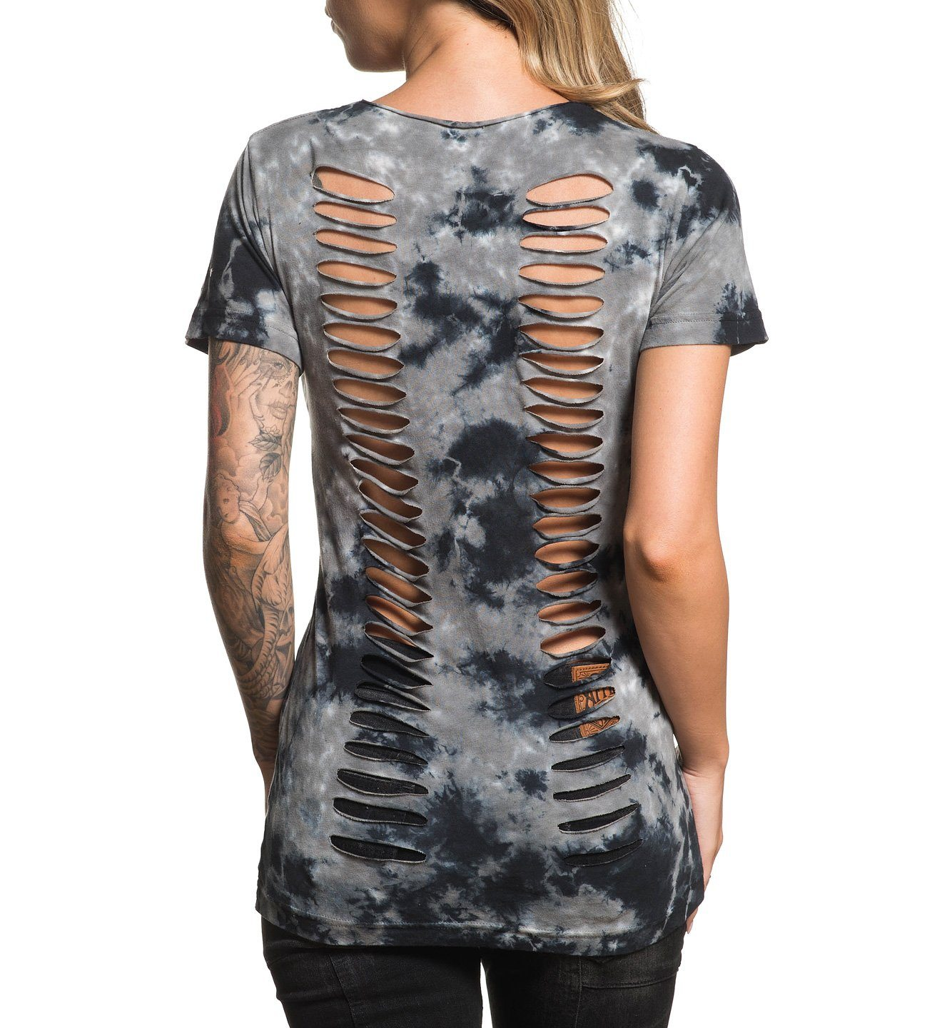 Libby - Womens Short Sleeve Tees - Affliction Clothing