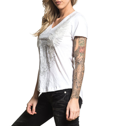 Lorelei - Womens Short Sleeve Tees - Affliction Clothing