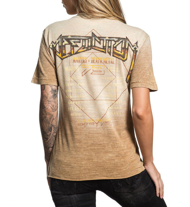 Setlist - Womens Short Sleeve Tees - Affliction Clothing