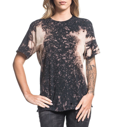 Standard Supply W-005 - Womens Short Sleeve Tees - Affliction Clothing