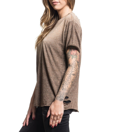 Standard Supply W-055 - Womens Short Sleeve Tees - Affliction Clothing