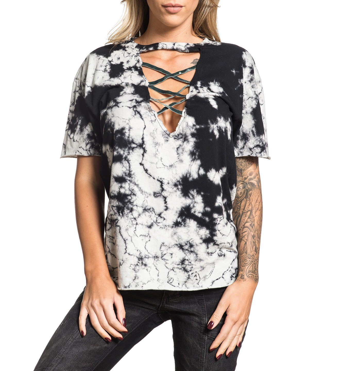 Womens Short Sleeve Tees - Standard Supply W-048
