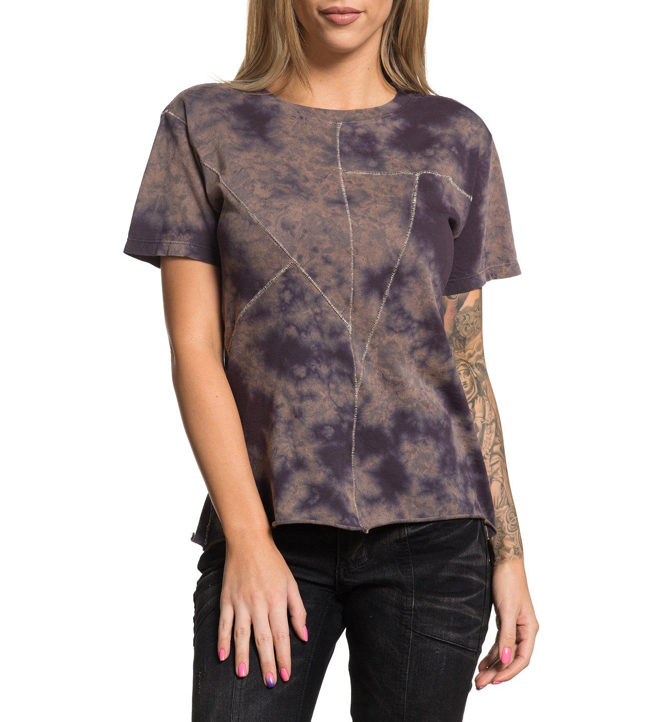 Standard Supply W-078 - Womens Short Sleeve Tees - Affliction Clothing