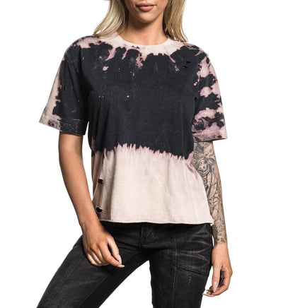 Standard Supply W-081 - Womens Short Sleeve Tees - Affliction Clothing