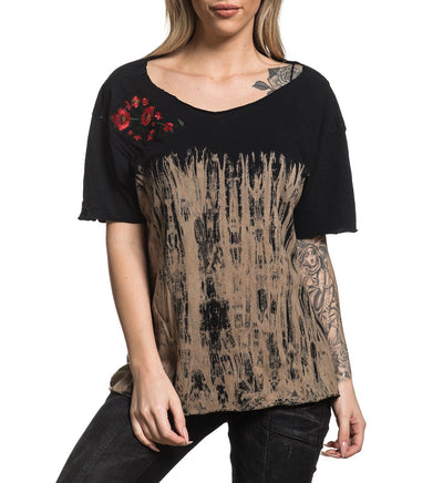 Standard Supply W-106 - Womens Short Sleeve Tees - Affliction Clothing
