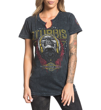 Womens Short Sleeve Tees - Sturgis 2017
