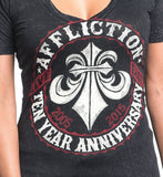 Womens Short Sleeve Tees - Ten Years