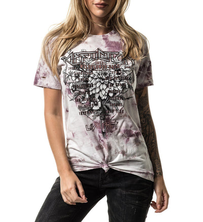 Wildflower Daze - Womens Short Sleeve Tees - Affliction Clothing