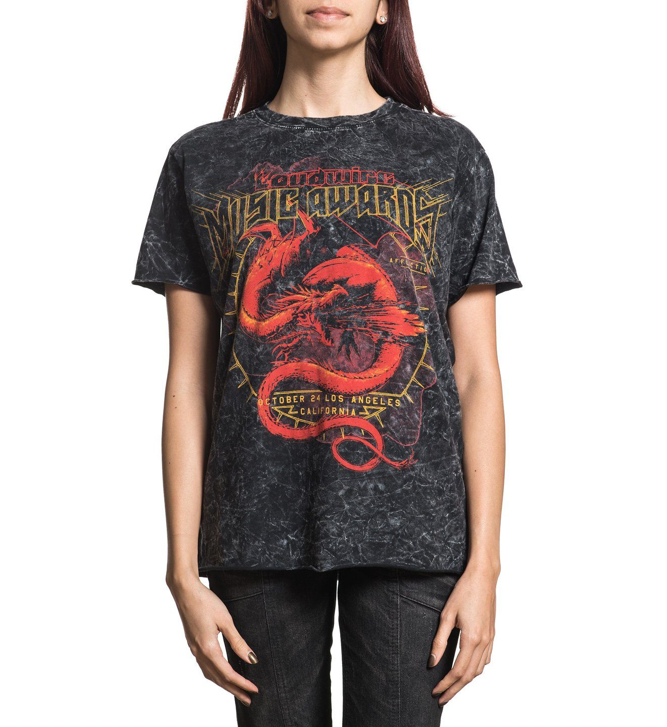Women's Loudwire Awards Tee - Womens Short Sleeve Tees - Affliction Clothing