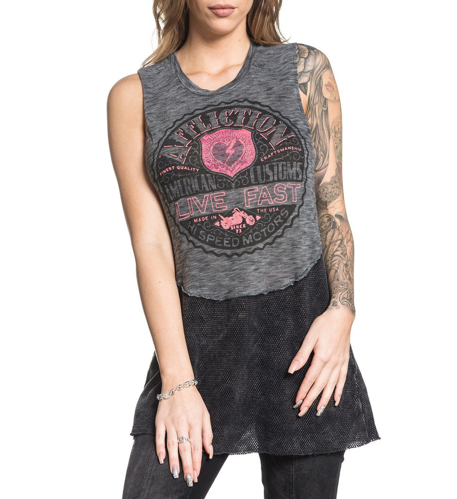 Womens Tank Tops - Axis